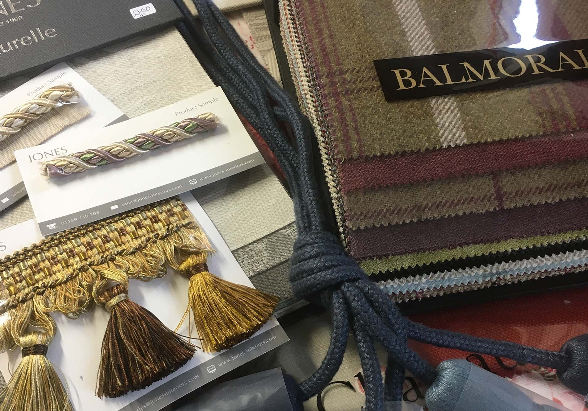Fabric books at The Sewing Barn